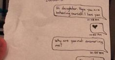Dad takes daughter's phone away, follows up with best troll