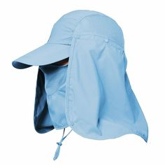 34721618d80ab Women Outdoor Sun Hat Fishing Hiking Hat Face Neck Flap Protect Summer UPF  50+