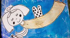 Tvoříme s dětmi ☺: Ještě z předvánočního tvoření 3. třída Winter Art, Advent, Art For Kids, Snoopy, School, Christmas, Fictional Characters, Activities, Souvenirs