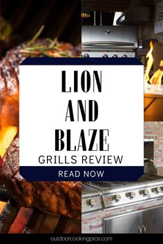Find out what is the perfect outdoor grill brand for you. Read Lion vs. Blaze Grills review by Outdoor Cooking Pros. Make your outdoor kitchen experience more fun and exciting by choosing the right outdoor grill brand for you. Learn the different qualities and downside of Lion and Blaze grills that will help you decide which one is the best for you. Make your grill recipes more special with the outdoor grill brand of your choice. Get the best outdoor grills at outdoorcookingpros.com. Modern Outdoor Kitchen, Backyard Kitchen, Outdoor Kitchens, Outdoor Cooking, Modern Farmhouse, Best Outdoor Grills, Outdoor Barbeque, Built In Bbq Grill, Bbq Pro