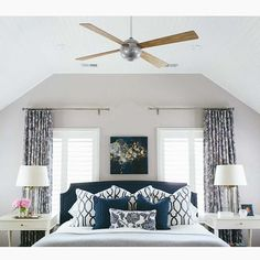 Master bedroom: Kate Marker interiors