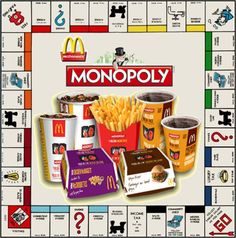 McDonald's partnered with Hasbro to create a sweepstakes promotion called Monopoly to give their customers a chance to win money. The target would be people 25 or older who are in a financial situation that would include them not being able to afford much better than McDonald's and the need to win more money. It is franchise building as Monopoly is a family game and McDonald's is therefore promoting a family friendly reputation.