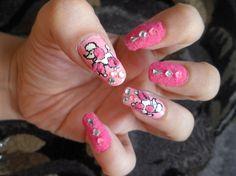 velvet puppy nails - Nail Art Gallery by NAILS Magazine