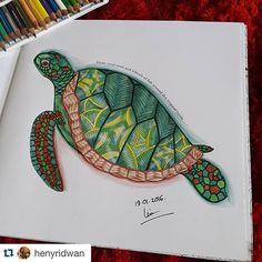 Instagram media florestaencantada2 - Sessão Paraíso Tropical Colorido da @henyridwan  ______________________________________ #paraisotropical #milliemarotta #tropicalwonderland #colorindo #colouringbook #art