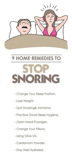 Snoring can possibly be a truly tough problem to deal with, both for the person who snores and for anybody who is trying to rest in the same bedroom. Thankfully, you can find useful remedies which you can use to control your snoring. Trying To Sleep, How To Get Sleep, Good Sleep, Cure For Sleep Apnea, Sleep Apnea Remedies, Insomnia Remedies, Circadian Rhythm Sleep Disorder, Home Remedies For Snoring, How To Stop Snoring