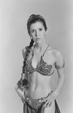 Princess Leia...suprise, we are taking your picture!