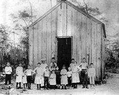 First school in Miami, (Coconut Grove) 1890