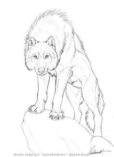 Pin Von Andreas Auf Zeichnen Tiere Alle Drawings Wolf Sketch Und