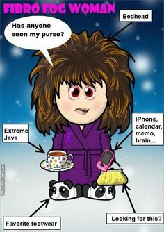 Life with Fibromyalgia may lead to this......(already has) - Lol!!