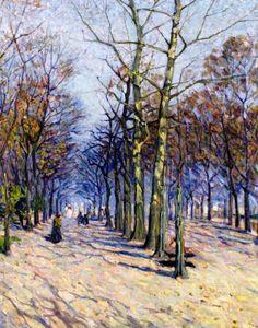 Helen Galloway McNicoll (1879-1915) - The avenue (1912 circa)