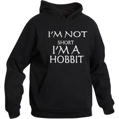 I'm not short I'm a hobbit hoody Various Colours and Sizes available ($25) ❤ liked on Polyvore featuring tops, hoodies, sweatshirt hoodies, patterned hoody, short hoodie, short hooded sweatshirt and pattern hoodie