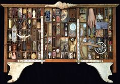 """""""A Time To Every Purpose Under Heaven"""" 2015 mixed media assemblage by Dianne…"""