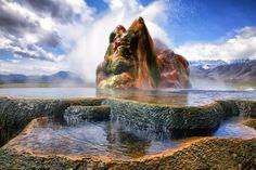Alien-looking geyser growing in remote corner of Nevada | ksl.com.  Not quite in UT but close enough.