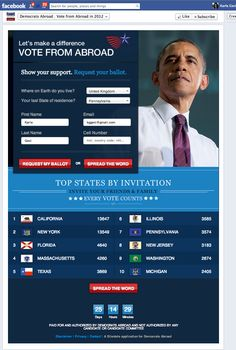 Democrats Abroad Facebook app Obama Campaign, Facebook Search, High Roller, Search People, Health Promotion, My Face Book, First Names, Content Marketing, Games To Play