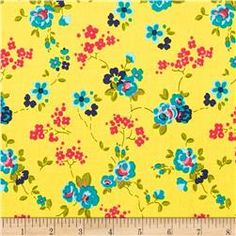Penny Rose Olivia Floral Yellow