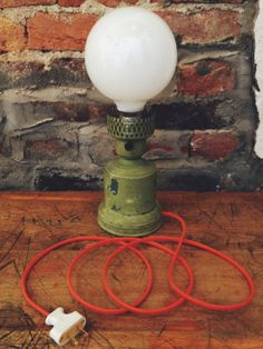 Elizabeth / Table Lamp / Desk / Industrial / by BijouHillsDesign, $75.00 #lamp