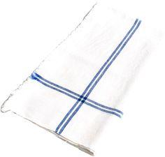 Sobremesa by Greenheart S/4 Handwoven Napkins, Blue Stripe