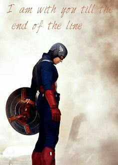''I am with you till the end of the line.'' / Captain America Fan Art