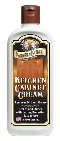 Clean Your Cabinets And Make Them Look New With This Gold In A Can - Clean kitchen cabinets wood