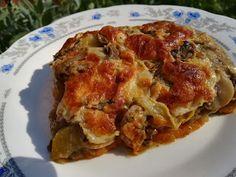 Sajtos-tejszínes rakott zöldségek Lasagna, Ethnic Recipes, Food, Essen, Meals, Yemek, Lasagne, Eten
