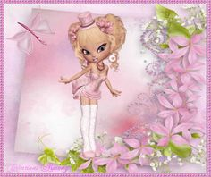 Tag d'été animé 1 - Créations Armony Princess Peach, Creations, Fairy, Cartoon, Fictional Characters, Image, Cartoons, Fantasy Characters, Faeries