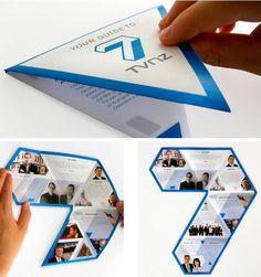 creatively folding brochures