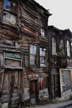 A very old and patched lodge, Istanbul Turkey. Full of memories and scars