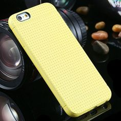 Back Case Fashion Honeycomb Dot Style Soft Silicone Cover