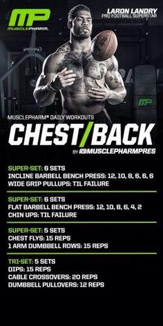 MusclePharm Chest/Back | Men's