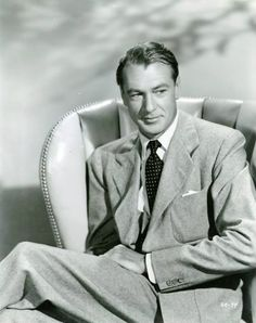 """Loved him in """"Love in the Afternoon"""" with Audrey Hepburn! Hollywood Men, Golden Age Of Hollywood, Vintage Hollywood, Hollywood Stars, Classic Hollywood, Hollywood Icons, Gary Cooper, Scarlett O'hara, Margaret Mitchell"""
