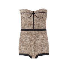 ボッテガ・ヴェネタ(BOTTEGA VENETA ) Item Searchファッション VOGUE ❤ liked on Polyvore featuring intimates, tops, dresses, bodysuit, lingerie, body suit, bodysuit lingerie, bottega veneta and lingerie bodysuit
