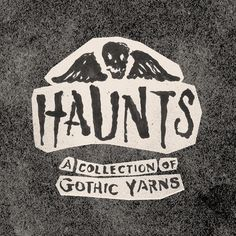 """""""Haunts: A Collection of Gothic Yarns"""" is a project I've been working on for a while with @joncontino. What better time than Halloween season to start showing some of it off! Over the next few weeks I'll be posting pieces on the Hammered Bats blog on our website and here on Instagram  #pastliveshaunts by pastlivesny"""