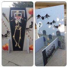 School Halloween Carnival game - Casket Ball