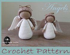 Angel Crochet Pattern 2 PDF 's English and Swedish Cubby House Crochet