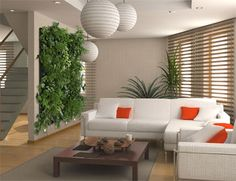 Super système de mur végétal / great and easy system for a green wall