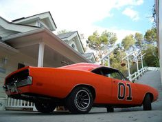69 Dodge Charger (General Lee) #muscle #car