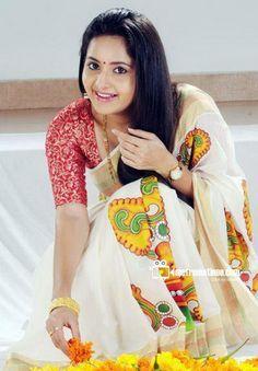 bhama in kerala saree