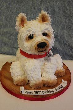 Wow! Amazing dog cake