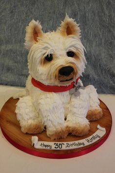 Wow! Amazing dog cake
