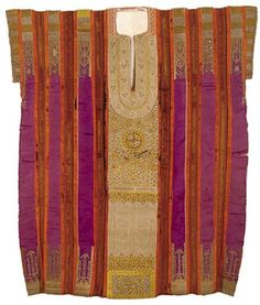 Africa | Wedding tunic ~ Qmejja ~ from Hammamet, Tunisia | 19th century