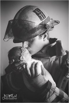 Image result for fireman and newborn poses