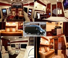 I could use this for PSU tailgates! Mercedes-Benz Sprinter Mobile Home