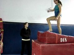 Awesome back tuck drill