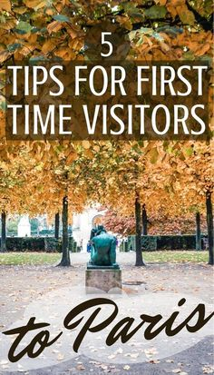 5 very useful tips for first time visitors to Paris, France! Tips, tricks and practical advice for those travelling to the French capital!