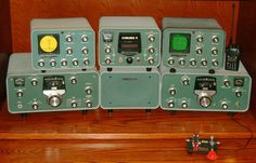 """Vintage Heathkit station. This was my """"dream station"""" as a teen age ham.  I ended up owning a SB303 and SB401 years later and would love to have them today."""