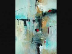 Abstract Modern Art Contemporary Painting by Filomena de Andrade Booth