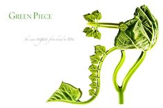 """Green Piece by Michel Tcherevkoff             """"She was vegan from head to toe."""""""