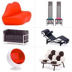 Individual Mini Design Blind Box Chairs - Vol. 4 from Poketo Living $20 ($120/set)