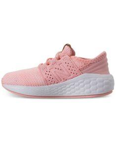 20395bb38 New Balance Toddler Girls' Fresh Foam Cruz V2 Running Sneakers from Finish  Line - Pink
