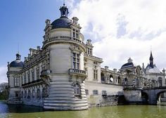 Chateau Chantilly in Oise, Picardy, France